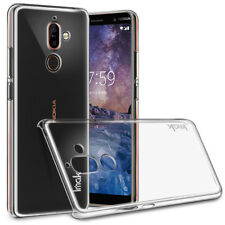 For Nokia 7 Plus IMAK Transparent Crystal PC Hard Case Cover for Nokia 7 Plus