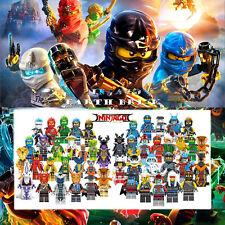 50+ Ninjago Minifigures Kai Jay Zane Lloyd Cole Nya ZX Skulkin Costume US Seller