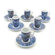 Portuguese Ceramic Espresso Cups Souvenir From Portugal - Set of 6