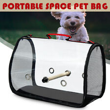 Portable Pet Parrot Bird Carry Backpack Breathable Cage Travel Mesh Bags