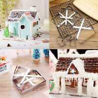 Ausstechformen Weihnachten Lebkuchen Haus Keks Gebäck Plätzchen Ausstecher 1Set#