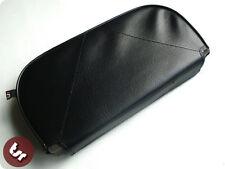 Vespa/lambretta resto trasero Slipover cover/pad Negro