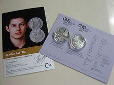 República Checa 2016 200 coronas de plata coin St bu-Petrín funicular & perspectiva tormenta