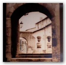 PHOTO ART PRINT Courtyard in Burgos by Alan Blaustein