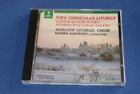 "CD ""LITURGIE DE NOËL DE KIEV"" MOSCOW LITURGIC CHOIR, PERE AMVROSY, ERATO TB ETAT"