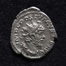 POSTUMO Antoniniano 267 D.C. MONETA D'ARGENTO ROMANO * IMP C postvmvs P F AVG *