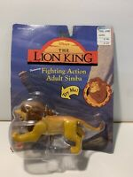 Disney's Lion King Fighting Action Adult Simba Action Figure 1994 Mattel