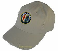 ALFA ROMEO embroidered hat - distressed look