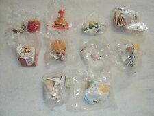 MCDONALDS McDINO CHANGEABLES HAPPY MEAL TOYS COMPLETE SET OF 10 SEALED DINOSAURS