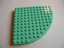 Lego 1 brique 1/4 rond vert pale /1 medium green round brick 5890 5830 5870 5871