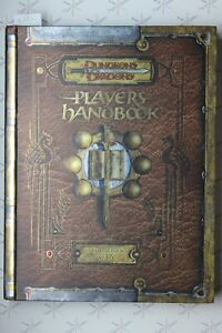 Player's Handbook Premium Reprint D&D 3.5 WoTC 620A0242 Dungeon Dragon Rare 2012