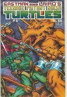 Teenage Mutant Ninja Turtles TMNT Vol 1(1984 Series) # 6 NM 1st Print
