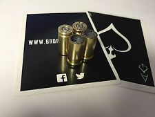 Custom 9mm Bullet Tire Valve Stem Caps Fits Cars, Trucks, Motorcycles, Hot Rod