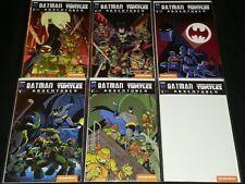 Batman Teenage Mutant Ninja Turtles Adventures #1 Complete Variant Set (6) (Nm)