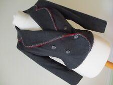 New Designer RENATO NUCCI Ladies Grey Wool & Cashmere Blazer/Jacket EU 38  UK 10