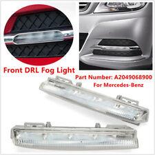 2PCS Front DRL Fog Light For Mercedes-Benz W204 W212 C250 C350 E350 A2049069000
