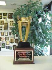 Fantasy Baseball Perpetual Trophy 16 Year Perpetual Award Awesome *