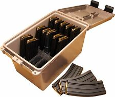 Ammunition Case Pouches Holder Storage Hold 30 Round 223/5.56 AR15 Mag Can Hunt