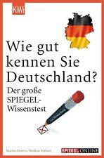 Wie Gut Kennen Sie Deutschland? - Der Große Spiegel Wissenstest (Buch)
