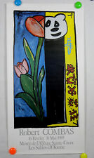 ancienne affiche expo ROBERT COMBAS 1985  n°217