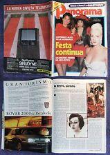 PANORAMA 1987,Scandalo Cia,Giuseppe Lupis,Giovanni Giudici,Montedison,Ligresti#f