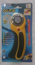 OLFA rotary cutter 45 mm with ergonomic handle