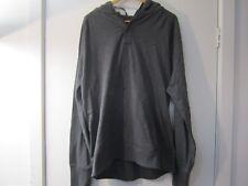 Gap men'schase solid slub pullover hoodie soft black size XL NWOT