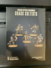 WARHAMMER 40K CHAOS CULTISTS