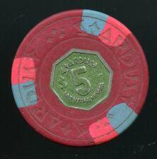 $5 Stardust 9th issue 1974 Las Vegas Casino Chip Very Scarce! Legendary Casino