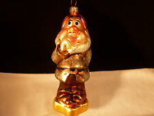 CHRISTOPHER RADKO CHRISTMAS ORNAMENT DISNEY SNOW WHITE & SEVEN DWARFS SNEEZY