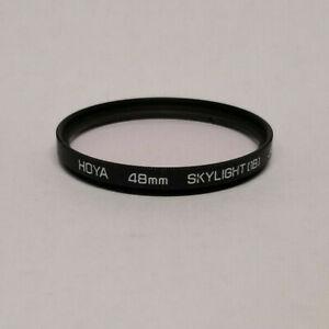 Genuine Hoya 48mm Skylight 1B Filter - Made in Japan
