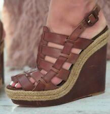 Christian Louboutin Barcelona Gladiator Wedges Heels Sandals Shoes S244