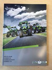 Deutz Fahr 6 Series Tractors Sales Brochure