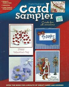 LEISURE ARTS # 3776:  Card Sampler:  Cards for All Occasions (2004) - 38 pages