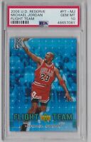 2006 Upper Deck Reserve Flight Team Michael Jordan PSA 10 Gem Mint