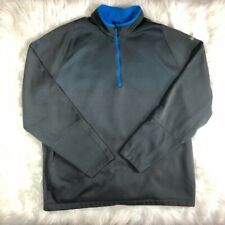 Nike 1/4 Zip Therma-Fit Synetra Pullover L/S Gray Men's Size 2Xl