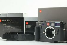 [Almost Unused Box] Leica M7 Japan Model 0.72 Black camera w/ Hand grip M Japan