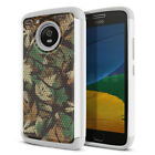 For Motorola Moto G5 (5 inch) Rugged Hybrid Hard Rubber Silicone Case Cover