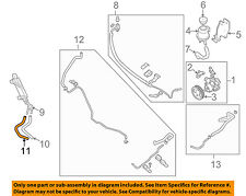 NISSAN OEM-Power Steering Return Hose 497257S005