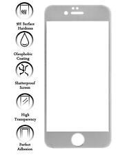 Protector de Pantalla Cristal Templado para Apple IPhone 6S I6S 4.7 Color Plata