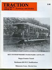 Traction Prototype and Models Magazine Vol 3 No 6 #18 Niagra Frontier Transit