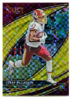 TERRY MCLAURIN 2019 Panini Select Field Level Gold Prizm Holo Rookie RC SP 4/10