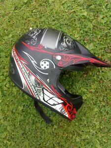 Fly USA Racing Off road Motocross Helmet FL 606 Large .58 cm.