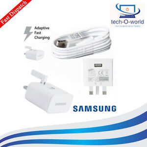 SAMSUNG GALAXY S7 S6 EDGE s8 S9 S10 FAST CHARGER PLUG & CABLE lot