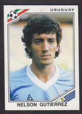 Panini - Mexico 86 World Cup - # 314 Nelson Gutierrez - Uruguay