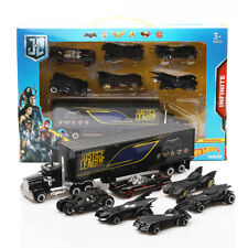 Birthday Gift 7Pc SET Batman Batmobile&Truck Car Model Toy Vehicle Metal Diecast