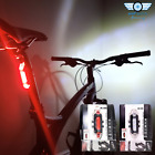 DC918 LED BIKE LIGHTS USB Rechargeable Red Rear White Front Set Road MTB Cycles <br/> Genuine DC918 USB Rechargeable Boxed Version £9.99RRP