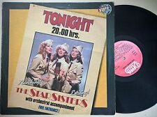 DISCO LP - THE STAR SISTERS ALBUM - TONIGHT - DELTA STARS ON 45 1983 DEL 7018 EX