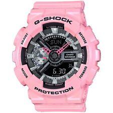 BRAND NEW CASIO G-SHOCK S-SERIES GMAS110MP-4A2 PINK ANA-DIGITAL WOMAN WATCH NWT!