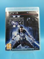 jeu video sony playstation 3 ps3 complet PAL star wars le pouvoir de la force II